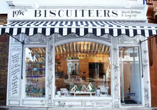 Afternoon Tea At Biscuiteers Boutique