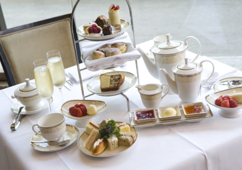 LONDON, THE KENSINGTON HOTEL, TALE AS OLD AS TIME AFTERNOON TEA ...