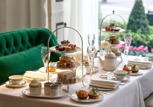 Grosvenor House Hotel Park Lane Afternoon Tea