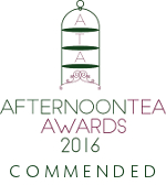 Afternoon Tea Awards 2016 - Commended