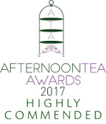 Afternoon Tea Awards 2017 - Highly Commended Logo