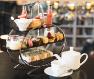 Tea with a complimentary Prosecco at Binswood Hall featured offer thumbnail