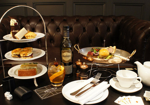 Mandeville Gentlemans Afternoon Tea