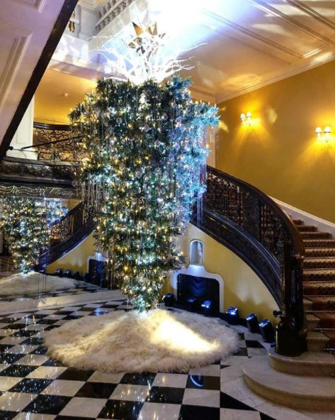 Top 10 Christmas Trees In London Hotels
