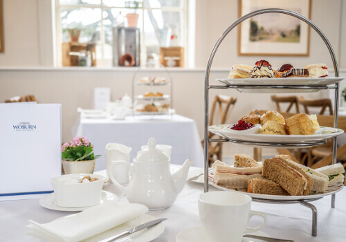 Afternoon Tea At Woburn Abbey Bedfordshire