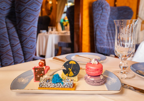 Mary Poppins Inspired Afternoon Tea Main at the Belmond British Pullman