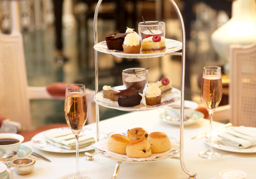 Main: Vegan Traditional Afternoon Tea at The Savoy