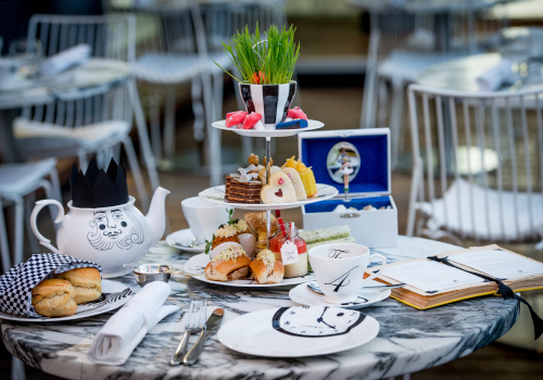Main1:The Mad Hatter's Afternoon Tea at The Sanderson Hotel