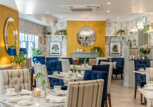 Afternoon Tea At Laura Ashley The Tea Room At Villiers Hotel Book Now