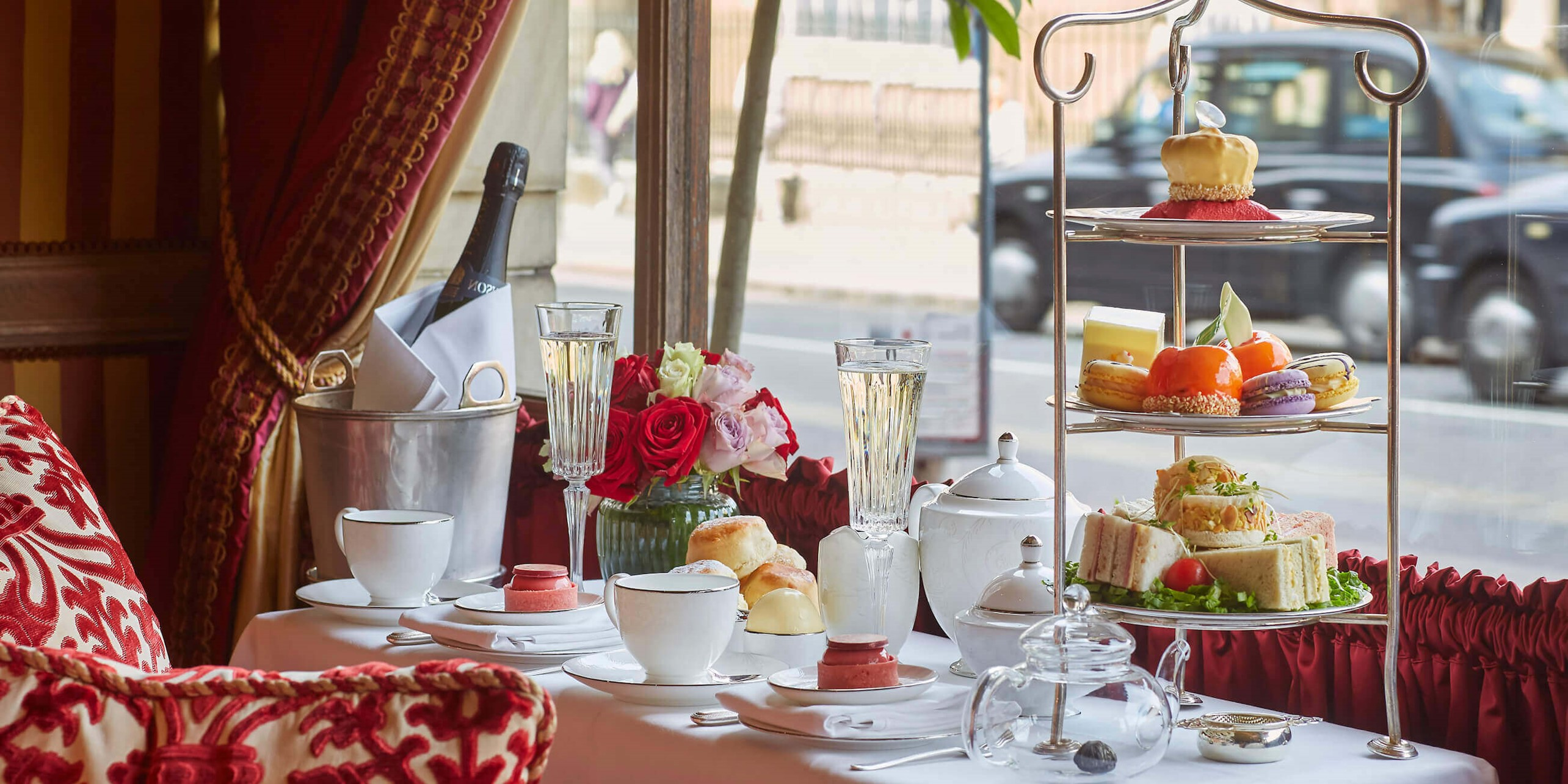 Royal Afternoon Tea at The Ruben at The Palace Hotel